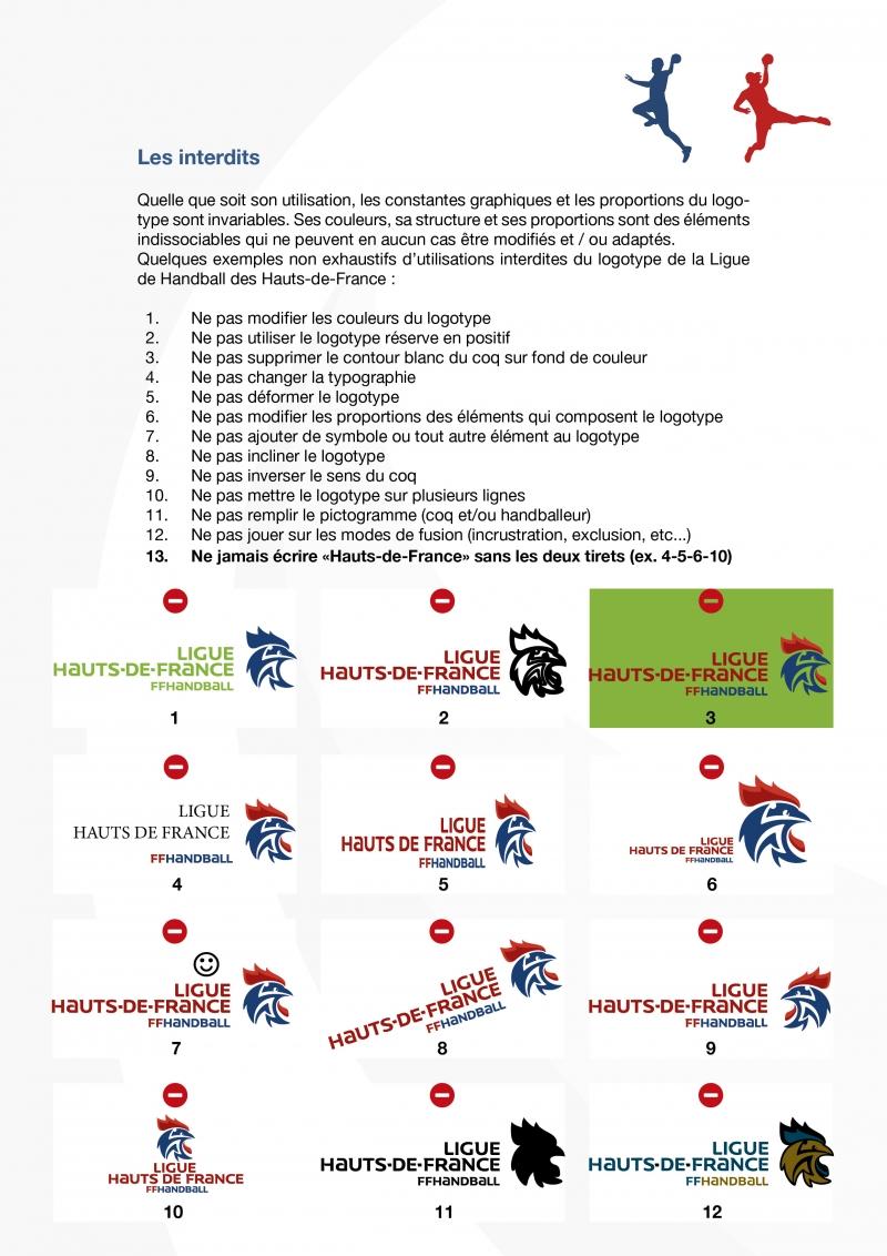 Interdits Ligue HB HDF