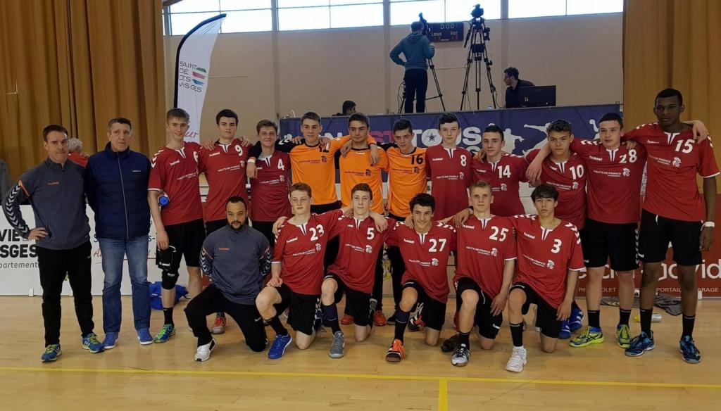 equipe interligues masculins des HDF 2018
