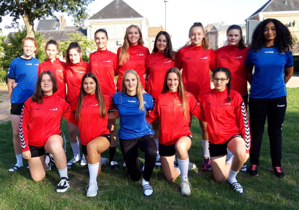 Pôle féminin de Tourcoing 2018-19 (Groupe Accession)