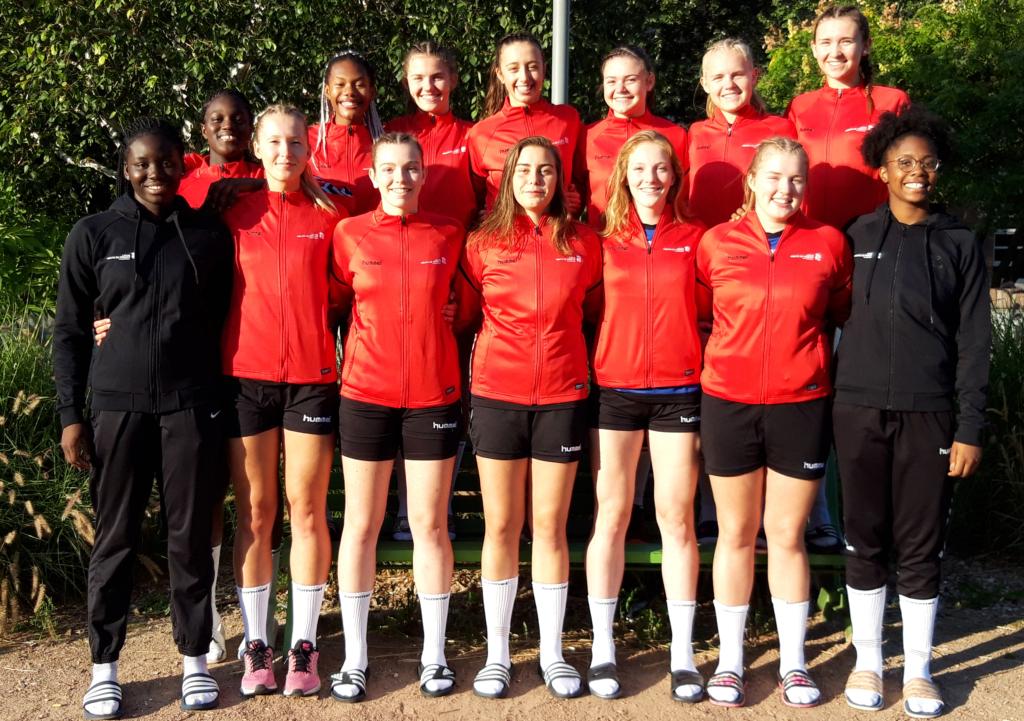Pôle féminin de Tourcoing 2018-19 (groupe Excellence)