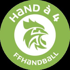 Logo Hand à 4
