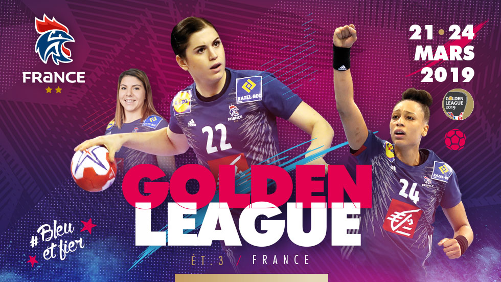 Golden League Féminine 2019 - Clermont-Ferrand @ Maison des Sports - CLERMONT FERRAND