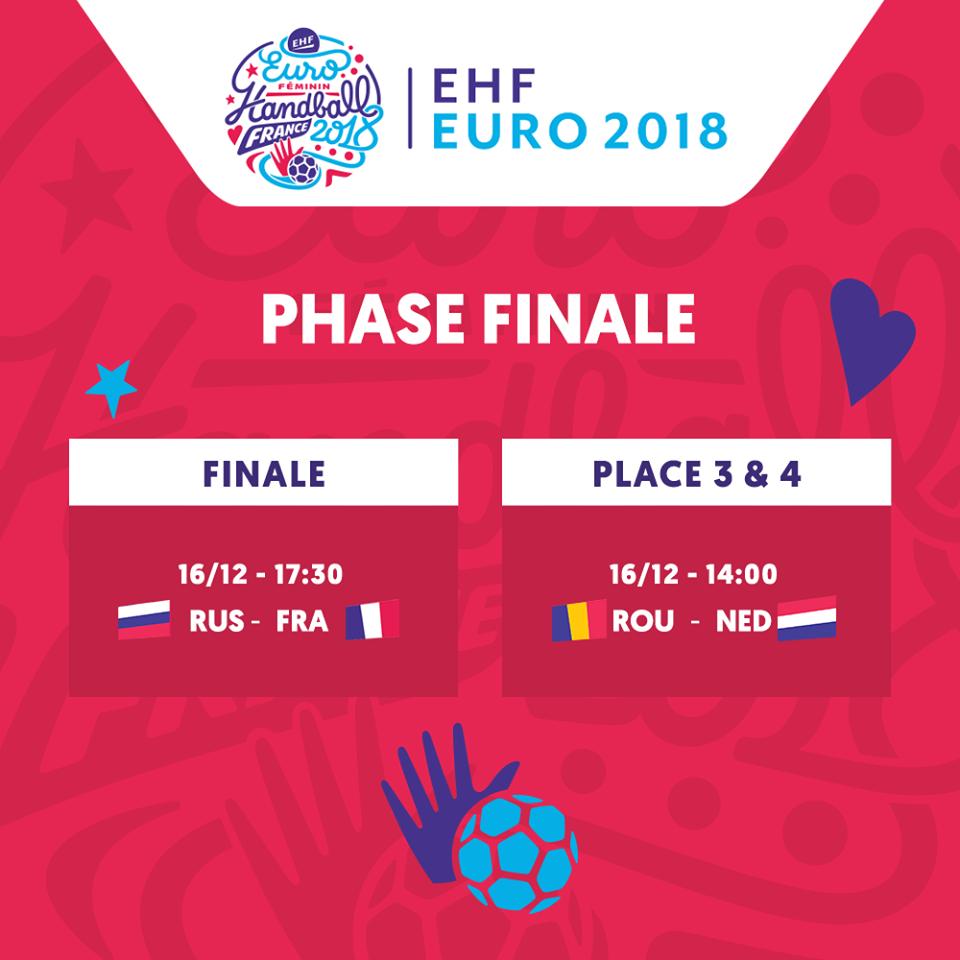 Finale et demi-finale EURO FEM 2018