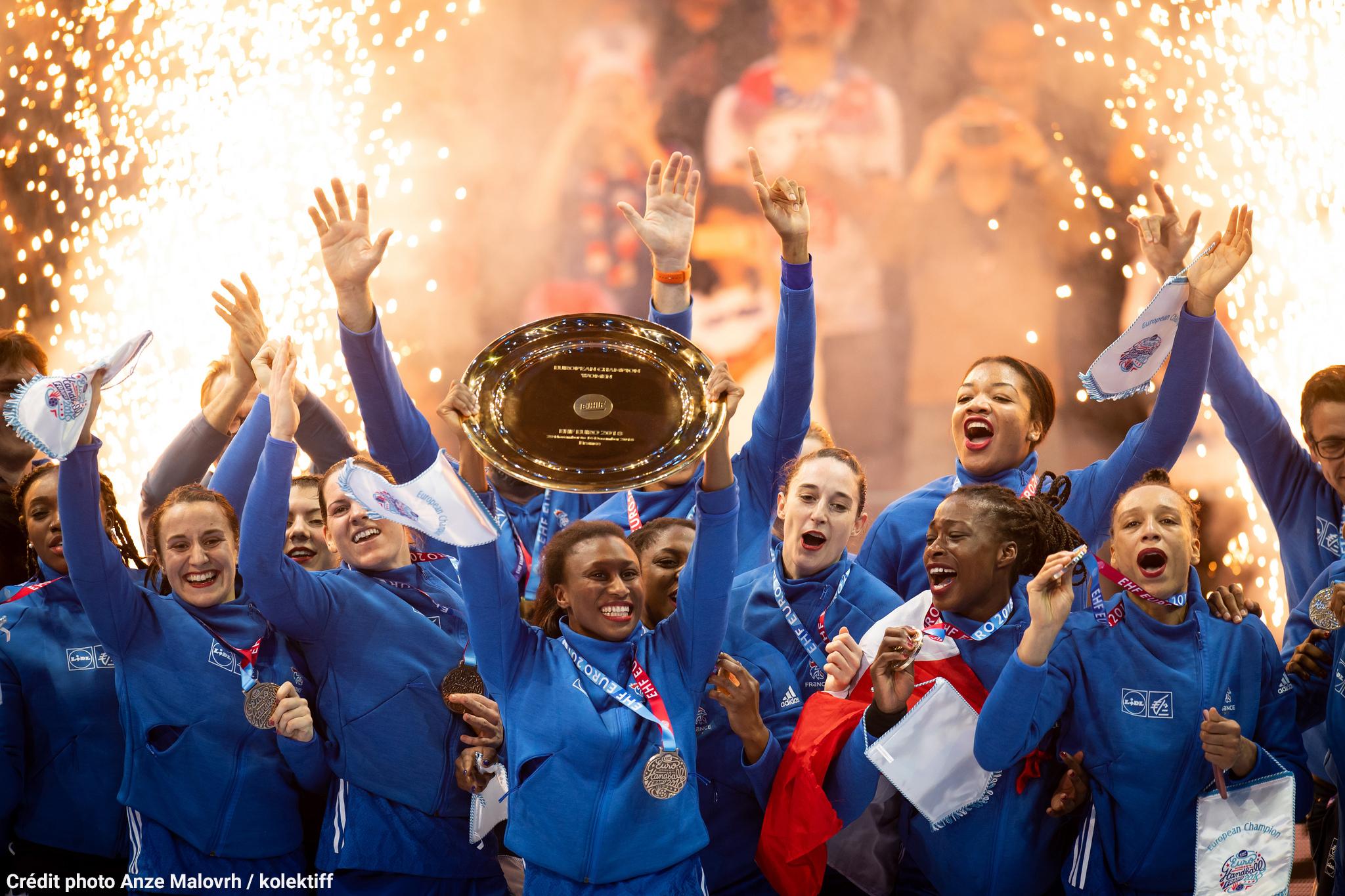 Championnes d'Europe 2018 (Photos Flickr)