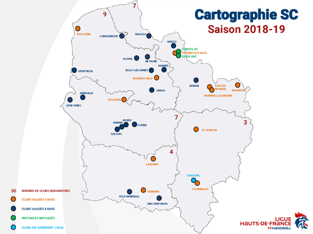 carte service civique 2018-2019
