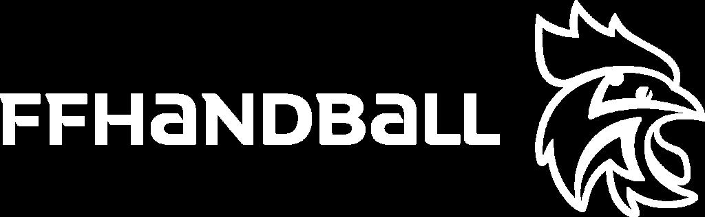 Logo FFHB tout blanc