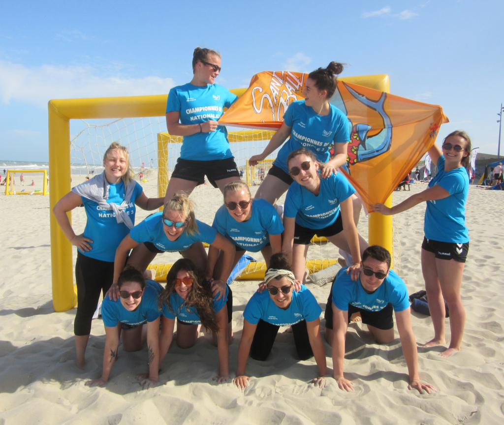 Equipes et groupe - sand clubs 2019