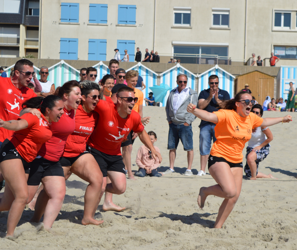Fair-play et plaisir - sand clubs 2019