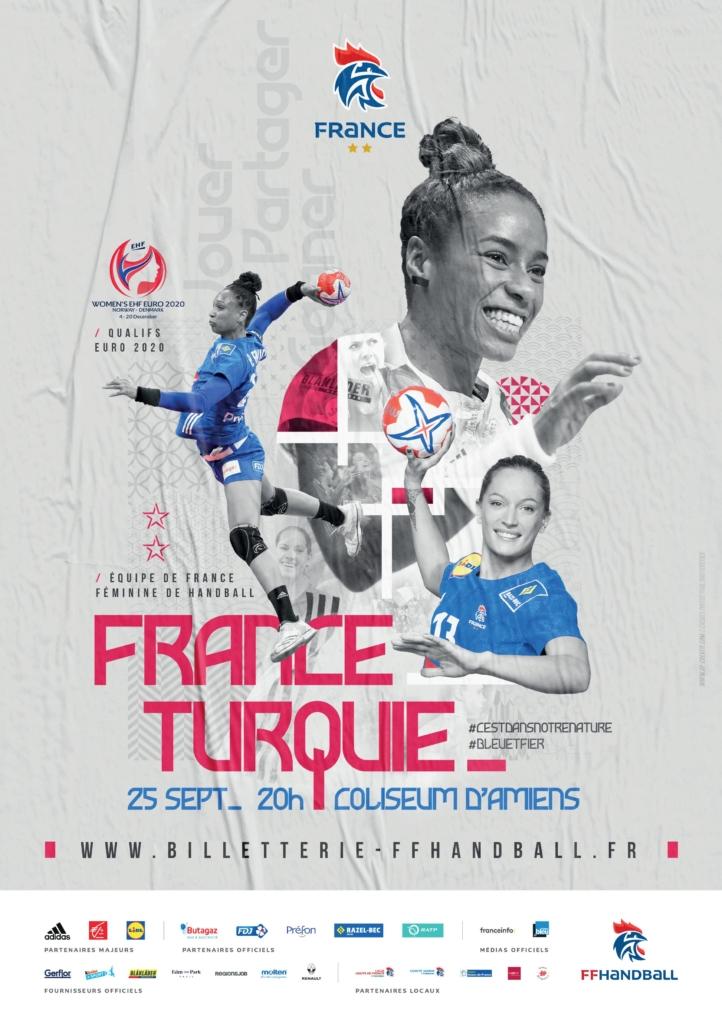 France - Turquie @ Coliseum d'Amiens