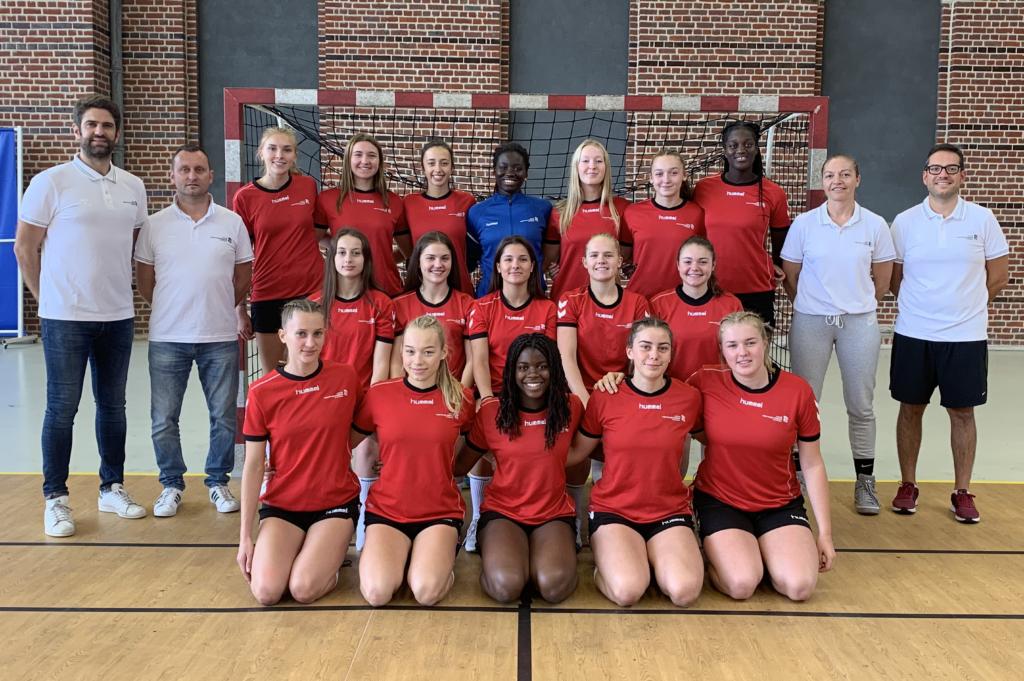 Pôle féminin de Tourcoing 2019-20 (groupe Excellence)