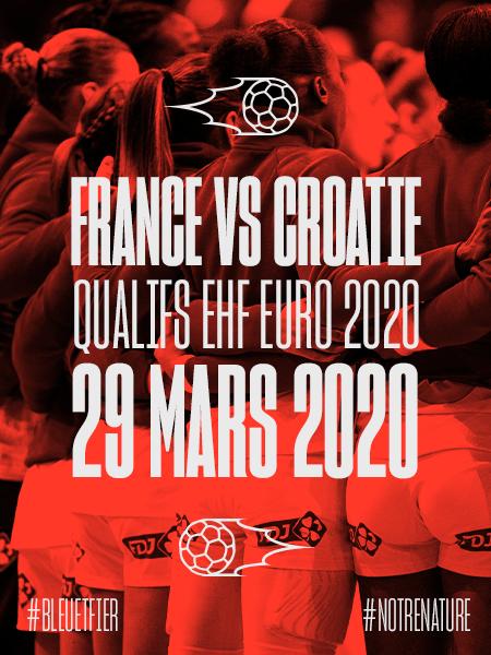 France - Croatie (EDF Fem) @ Montbéliard