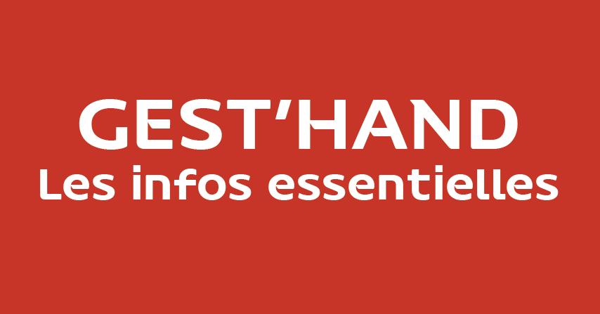 Gest'Hand FFHB - Infos