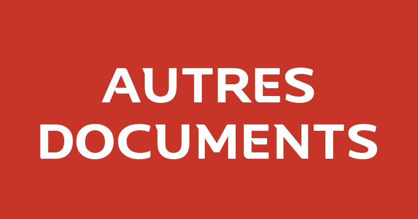 AUTRES DOCUMENTS FFHB