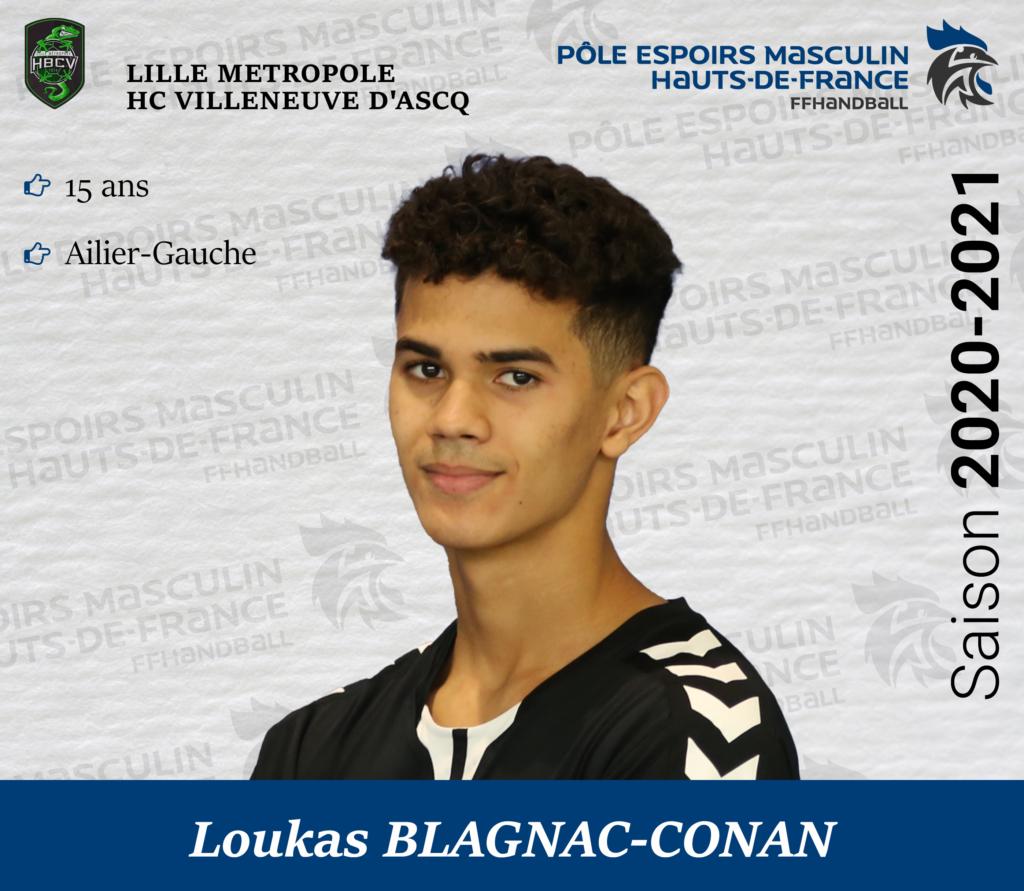BLAGNAC-CONAN Loukas