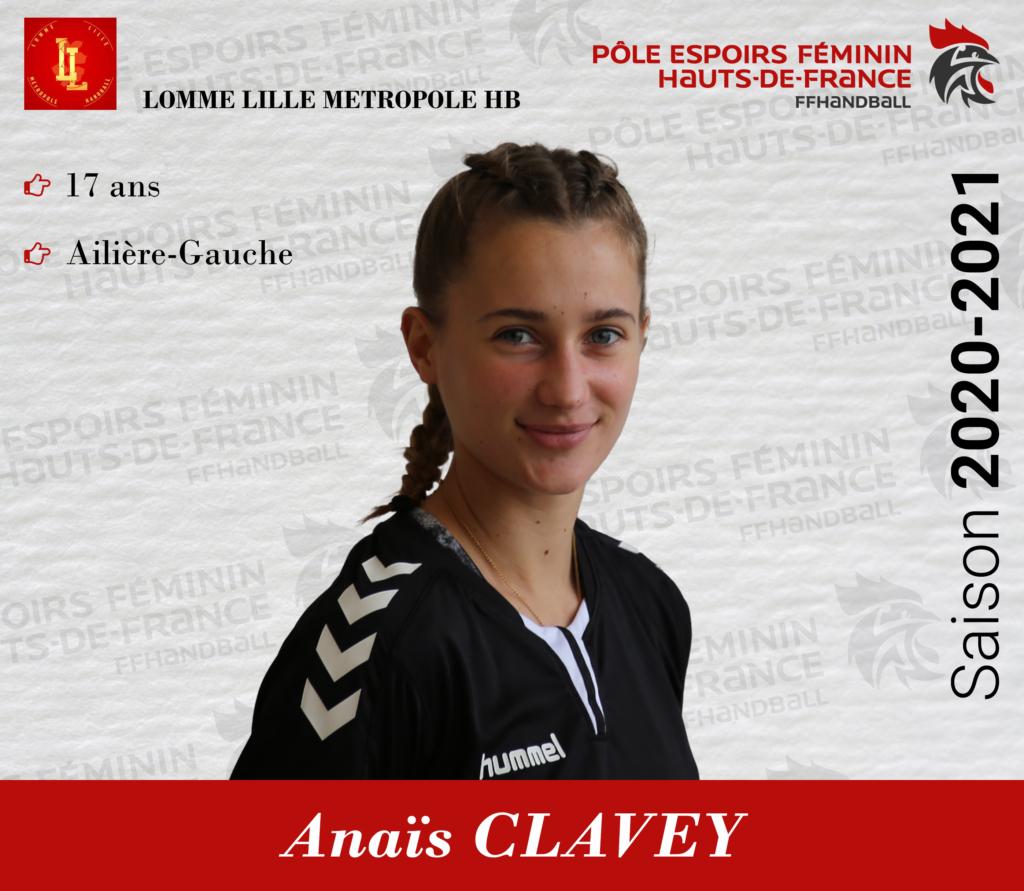 CLAVEY Anaïs