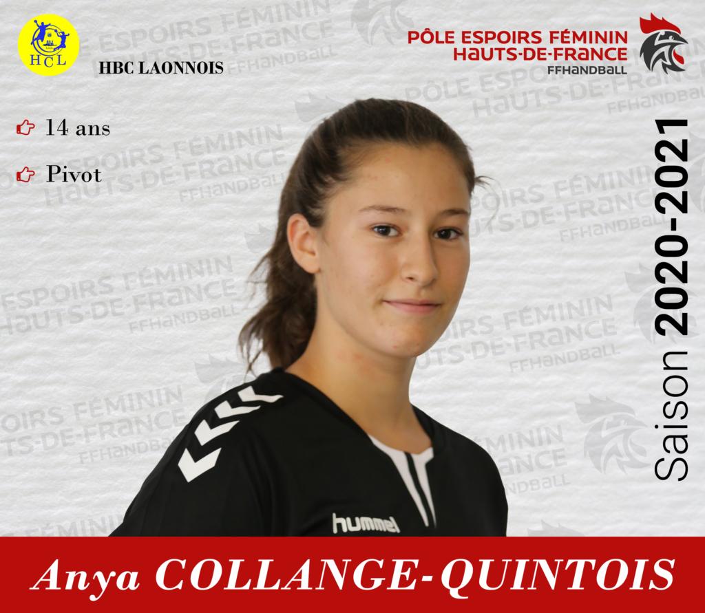 COLLANGE-QUINTOIS Anya
