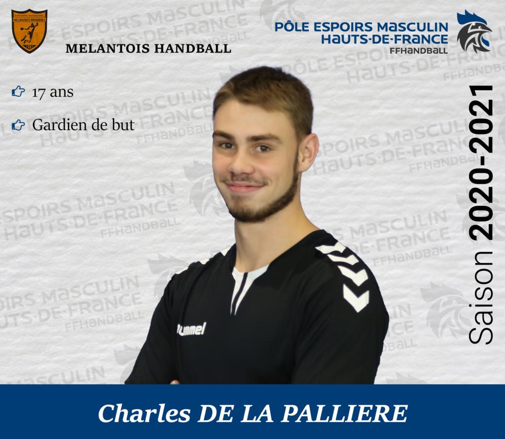 DE LA PALLIERE Charles