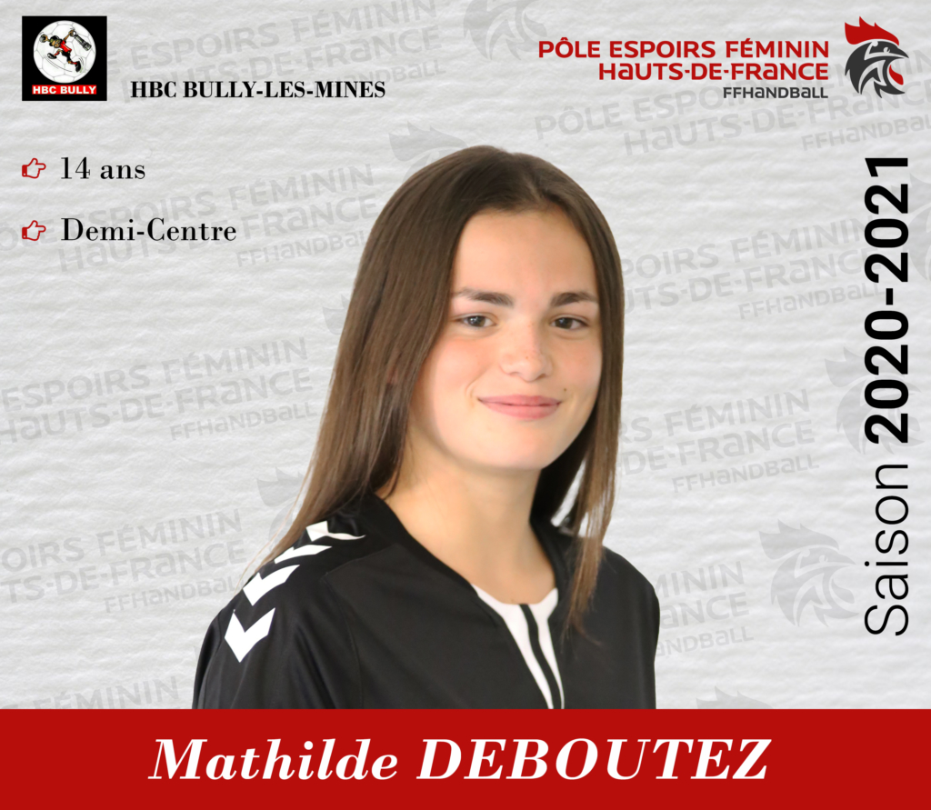 DEBOUTEZ Mathilde