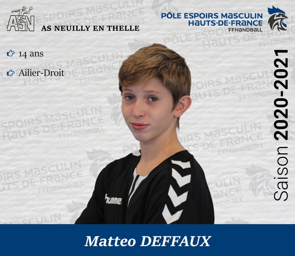 DEFFAUX Matteo