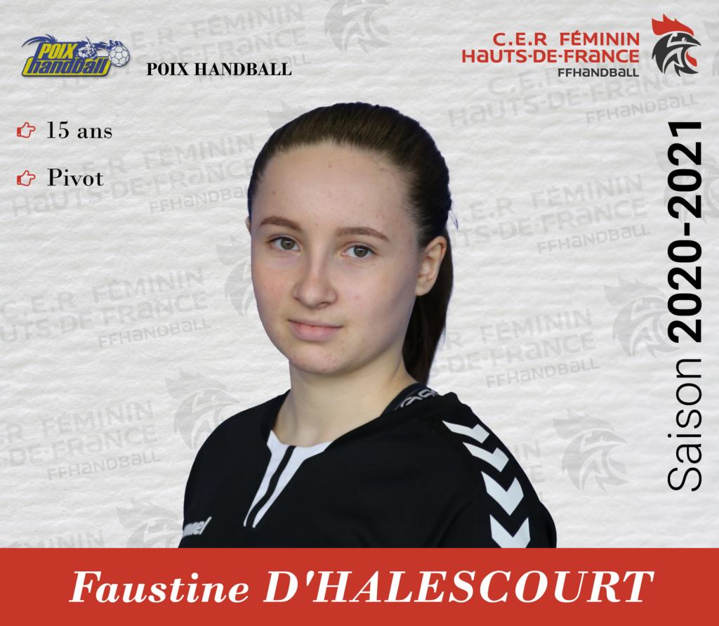 D'HALESCOURT Faustine