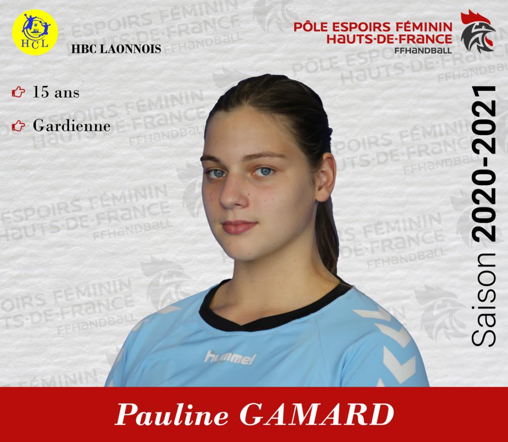 GAMARD Pauline