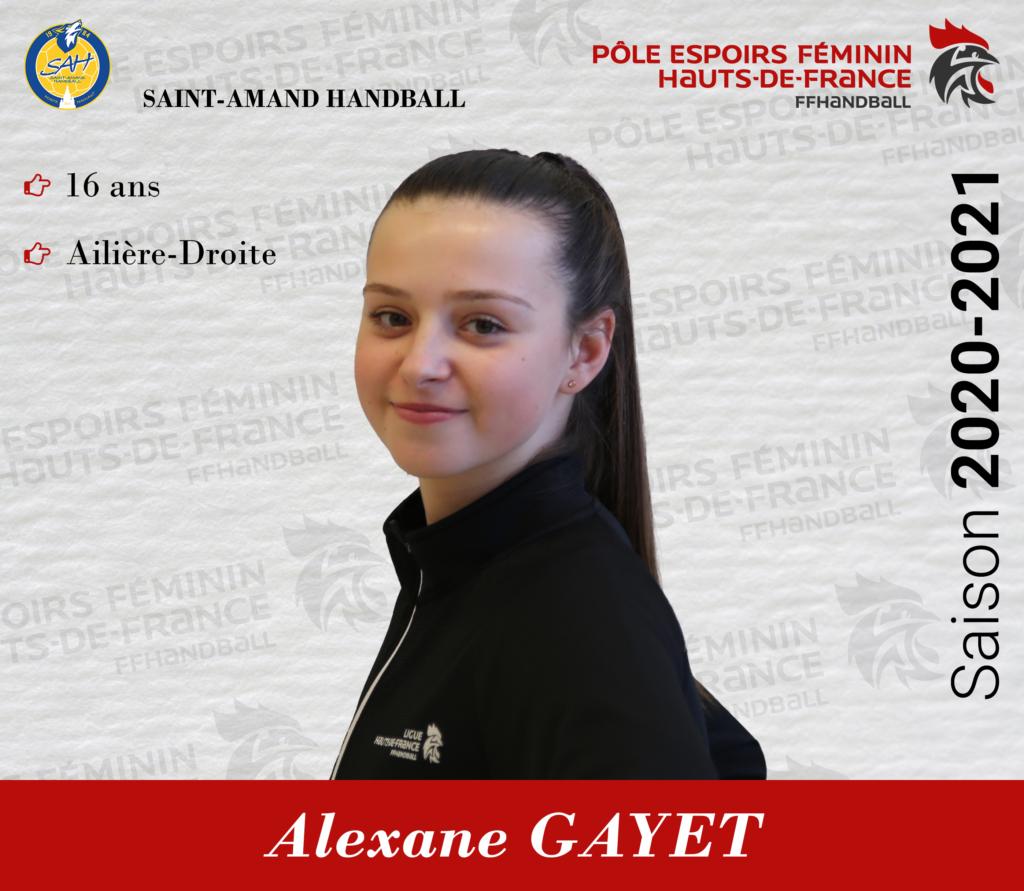 GAYET Alexane