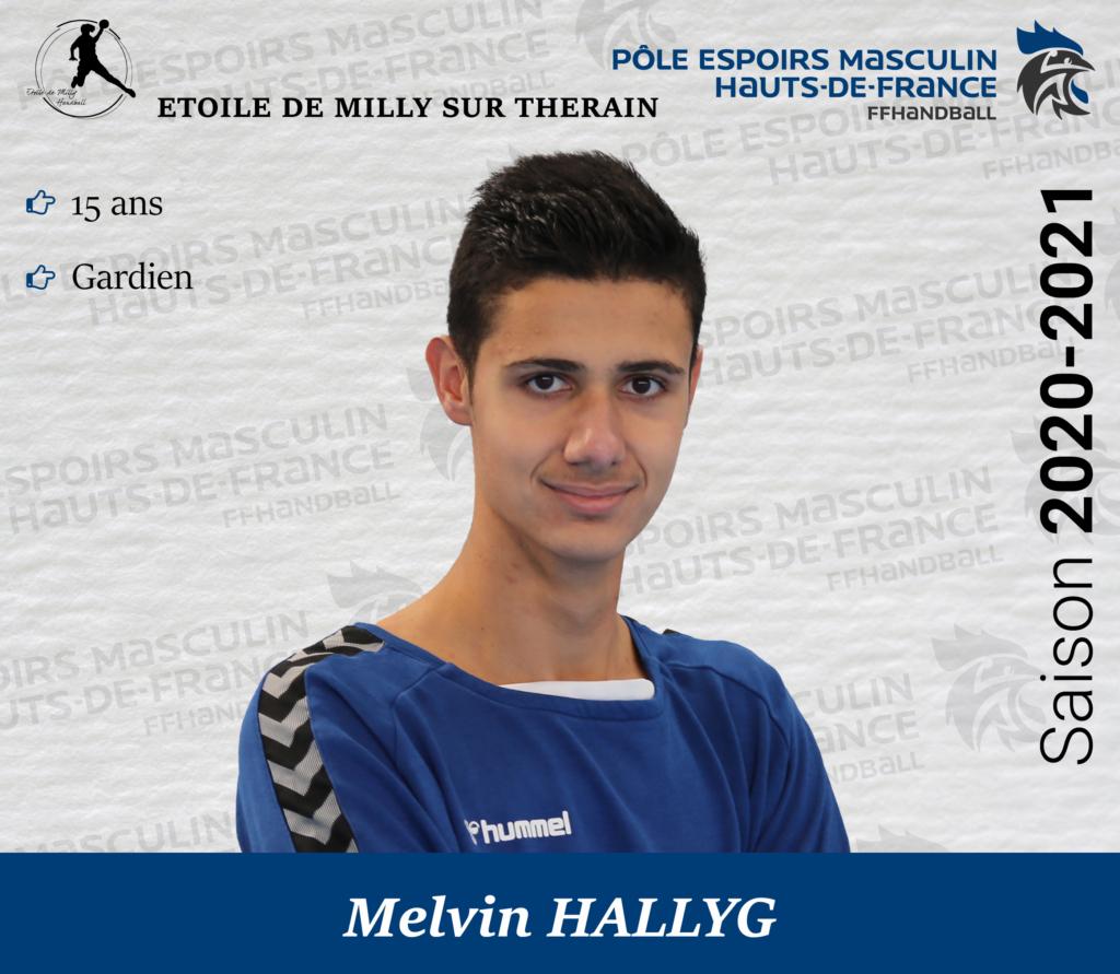 HALLYG Melvin