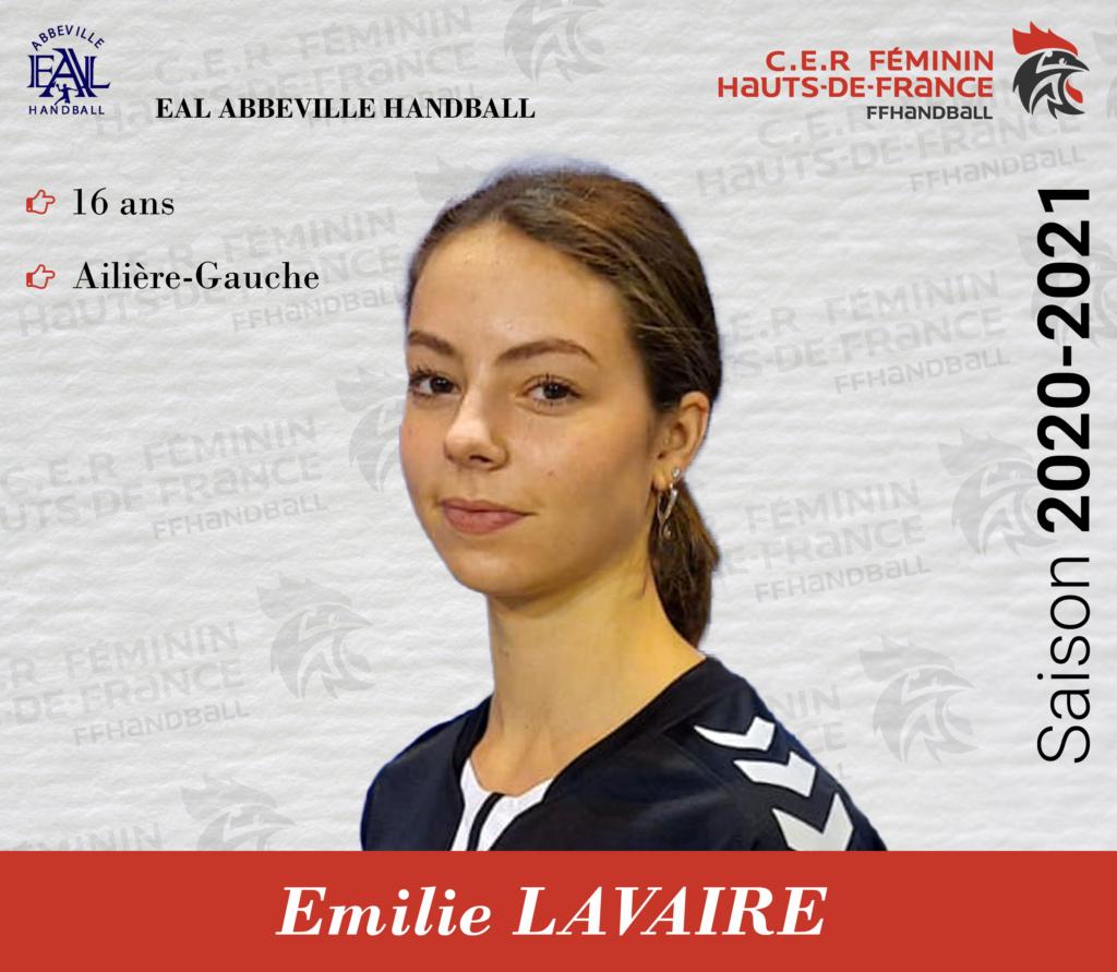 LAVAIRE Emilie