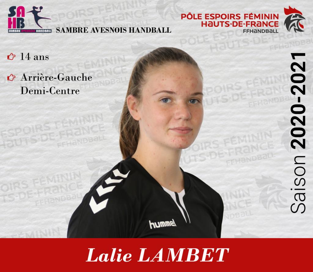 Lalie LAMBET