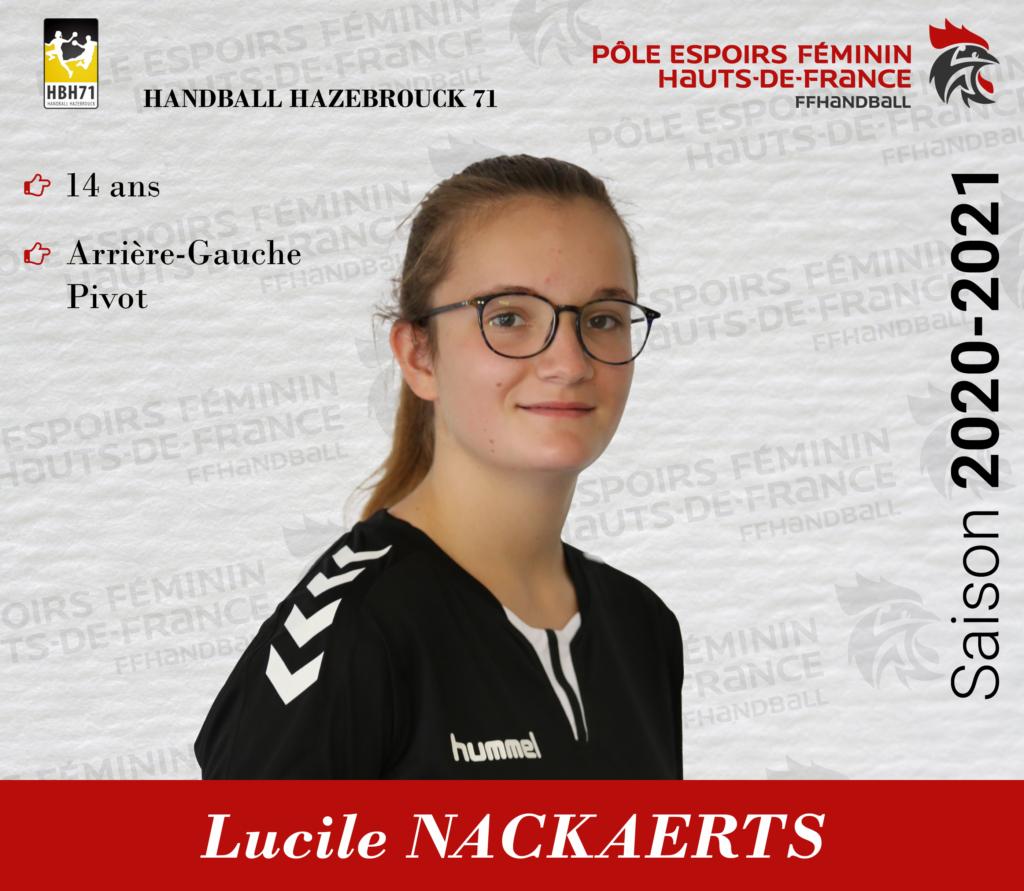 Lucile NACKAERTS