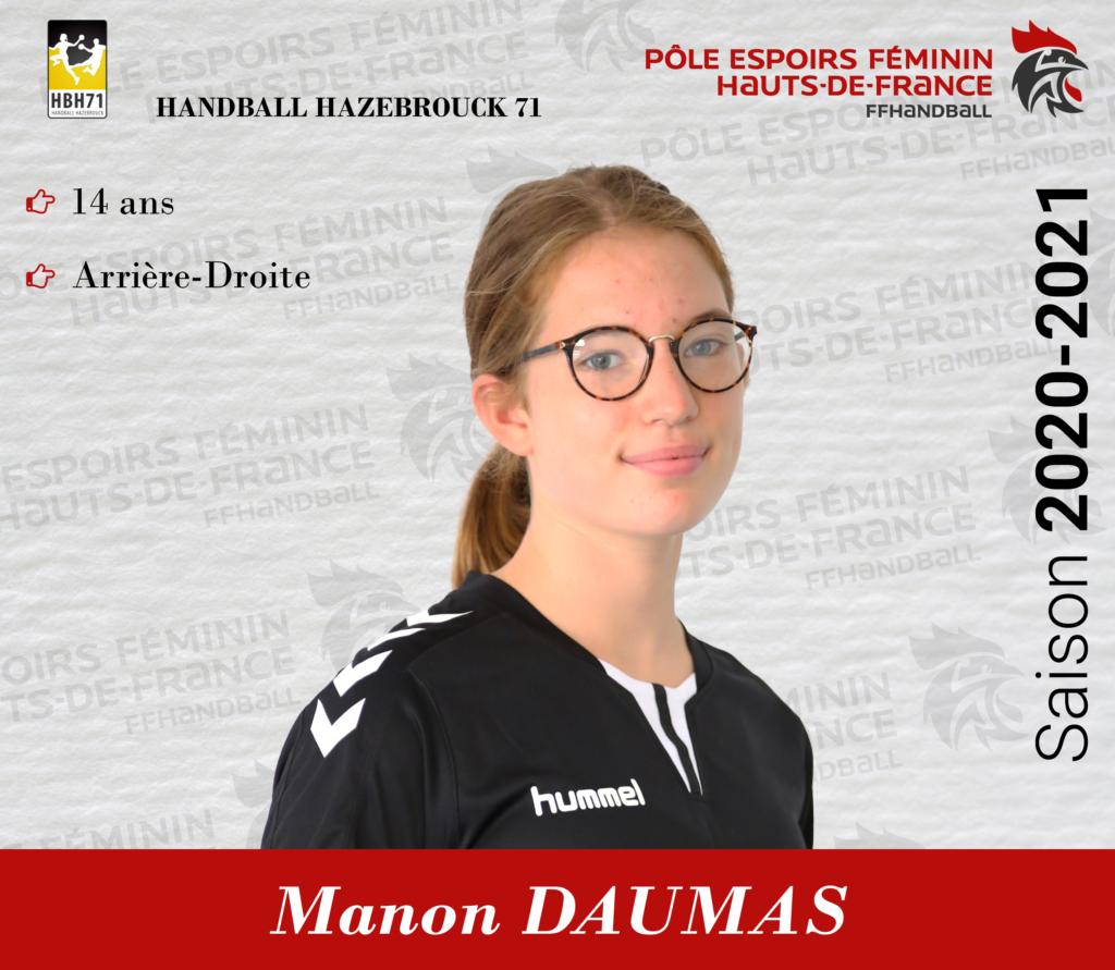 Manon DAUMAS
