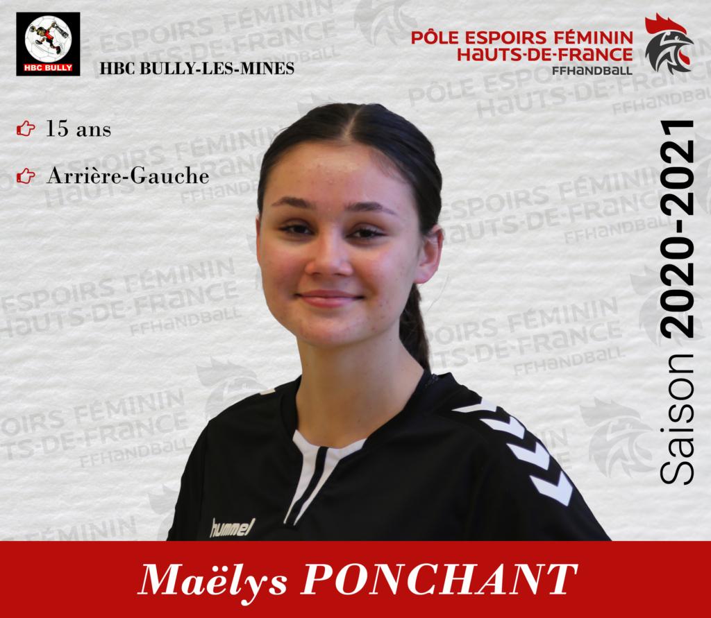 PONCHANT Maelys
