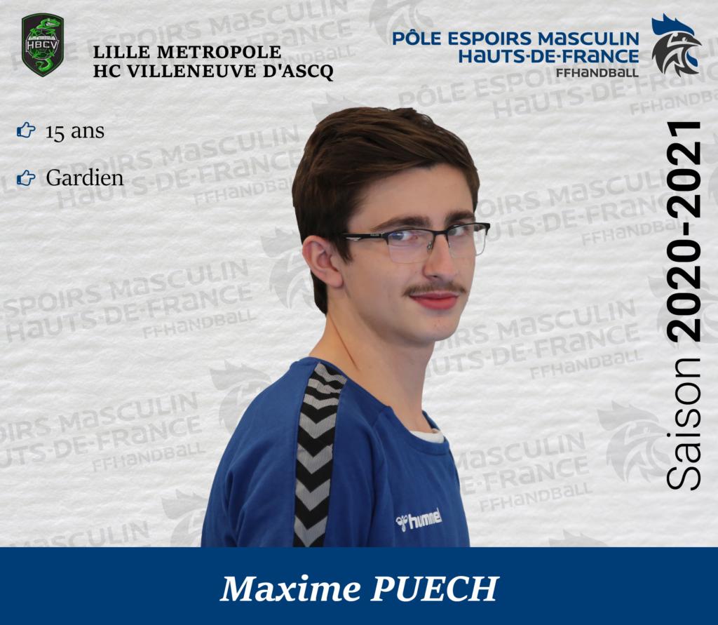 PUECH Maxime