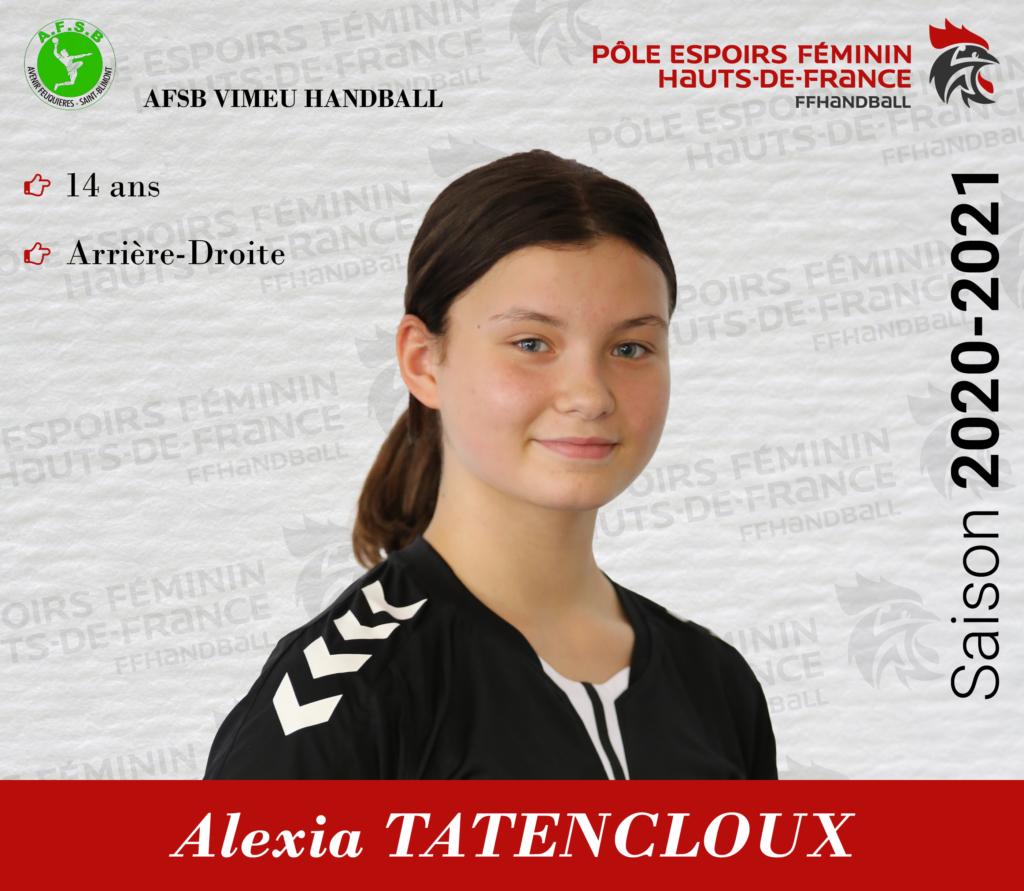 TATENCLOUX Alexia