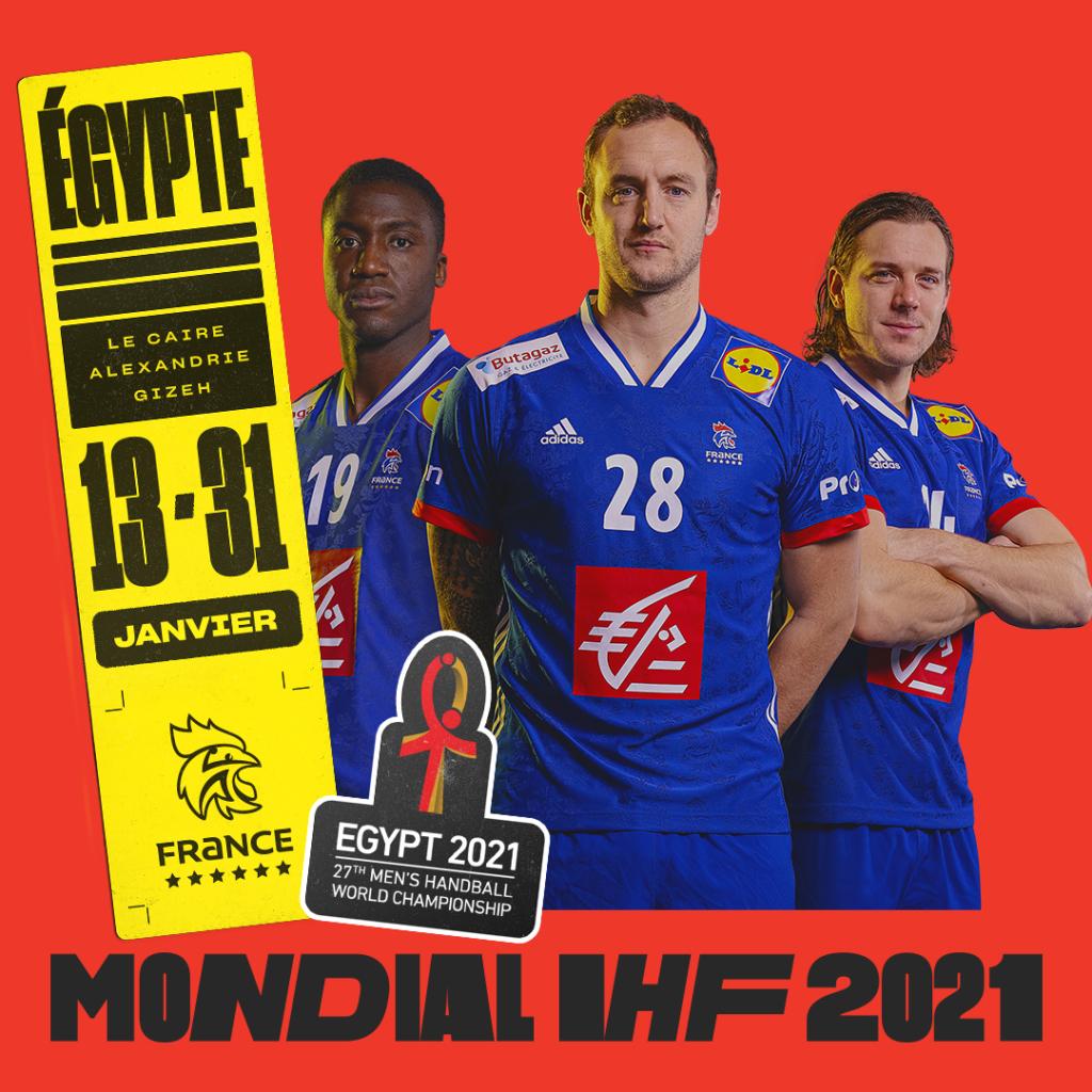 Mondial IHF Masculin 2021 @ Egypte