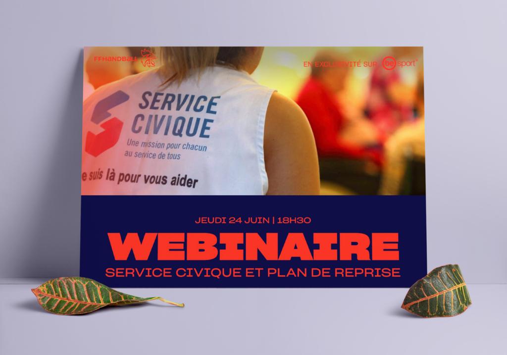 Webinaire FFHandball - Le Service Civique