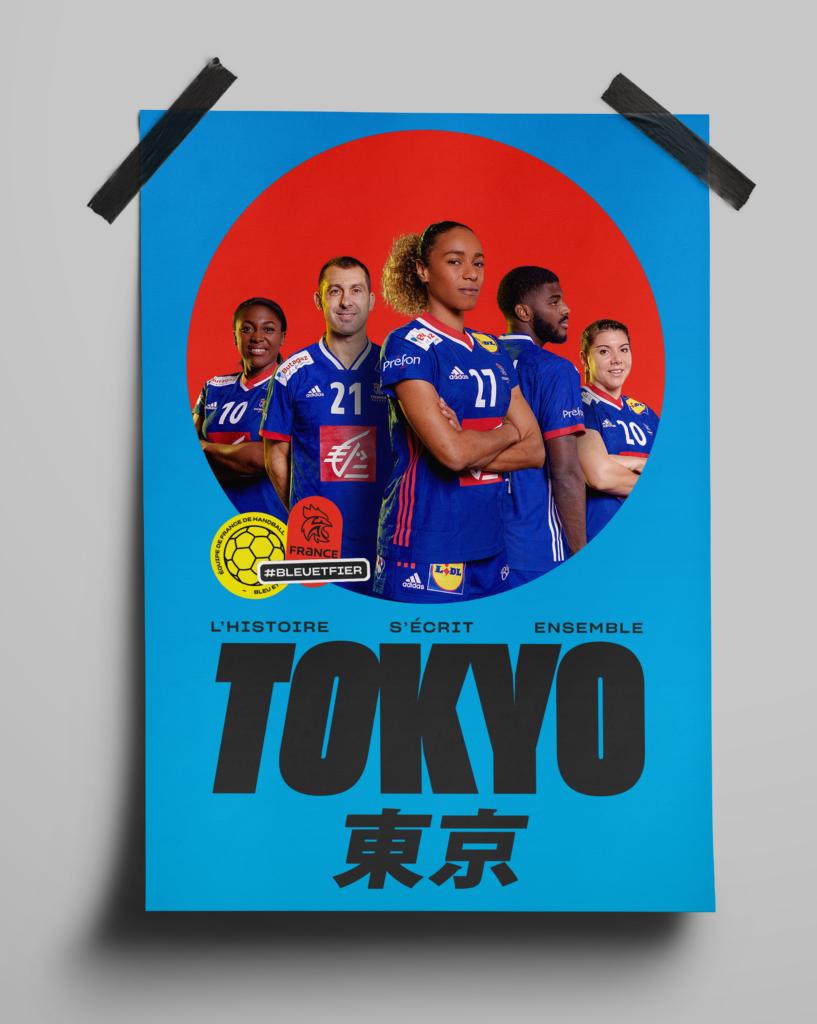 Affiche Tokyo 2021