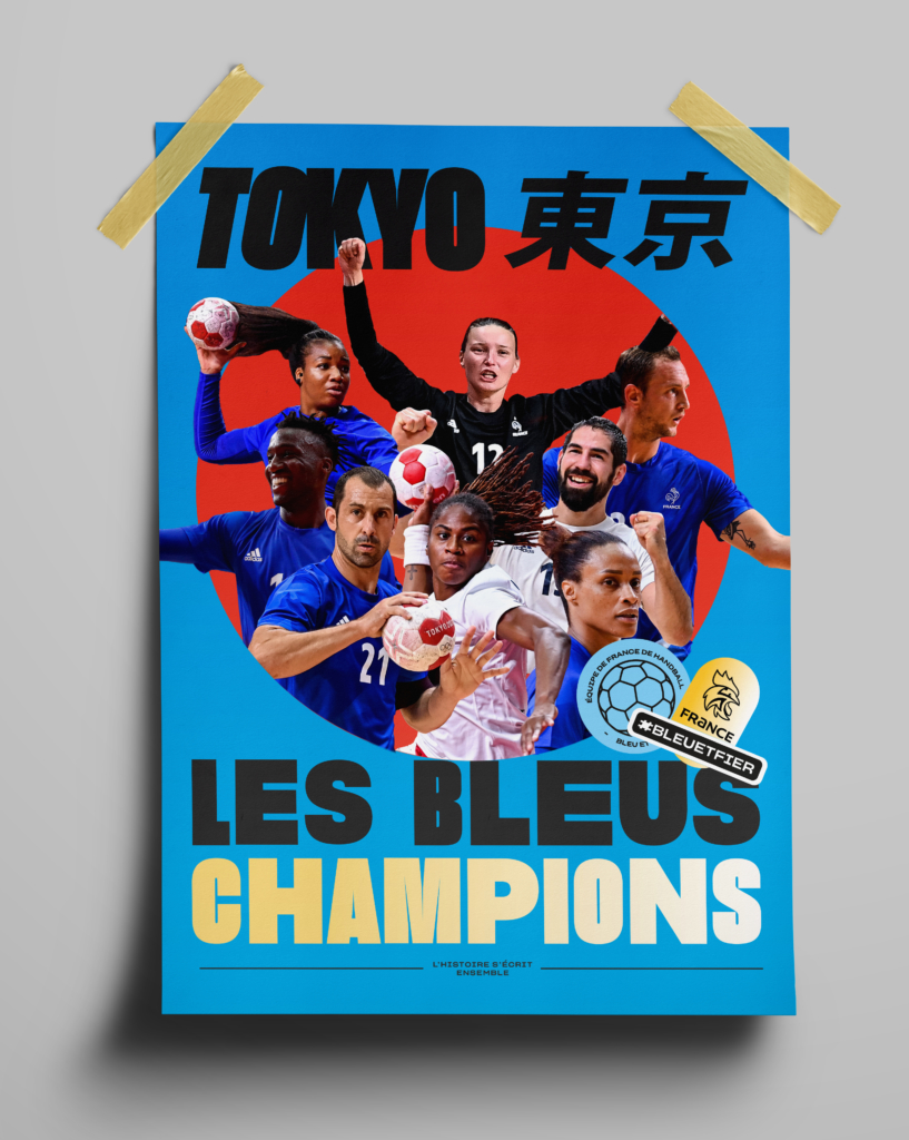 Affiche Champions Olympiques 2020