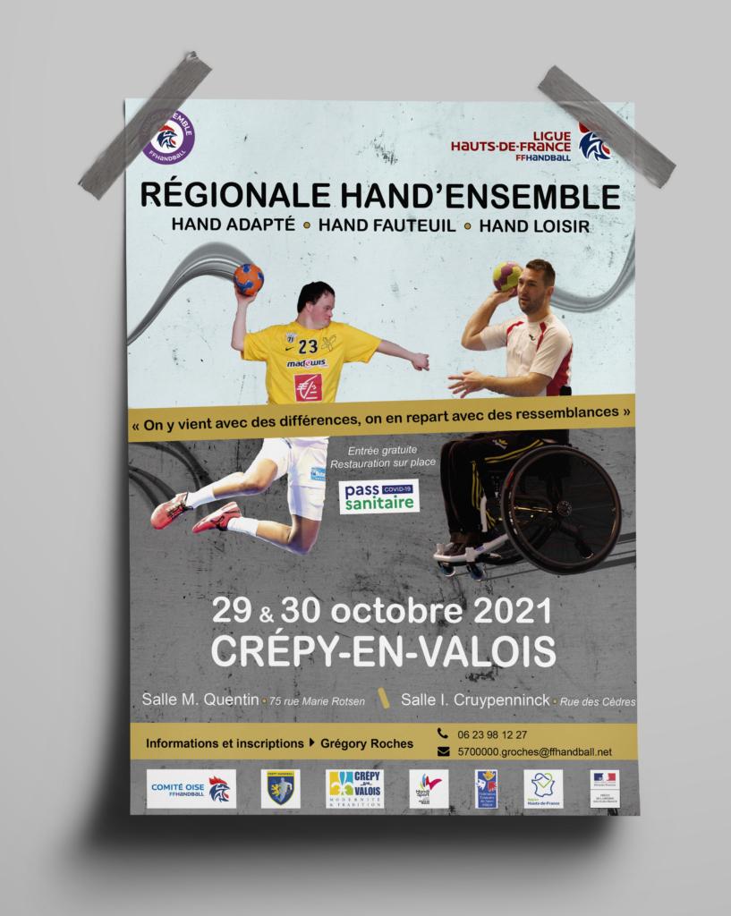 Affiche Régionale Hand'ensemble 2021